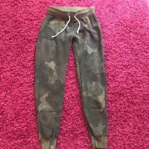 Pants - Alternative juniors camouflage sweatpants